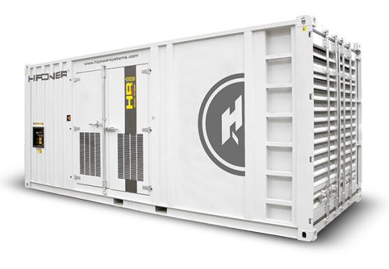HRMW1150 920kw generator MTU engine