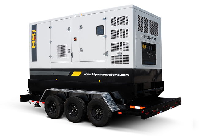 HRMW580 464kw portable generator MTU Engine